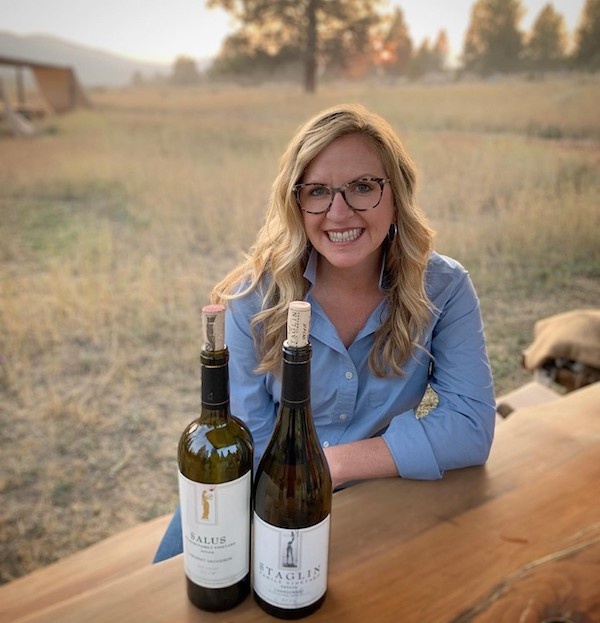 Amber Mihna, Staglin Family Vineyard